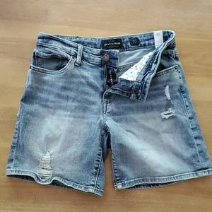 EUC Lucky Brand The Roll Up Shorts Sz. 4
